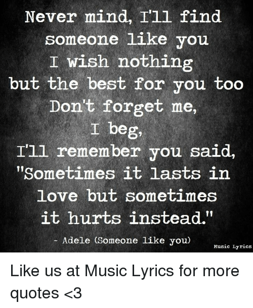 Lyrics Sometimes It Lasts In Love