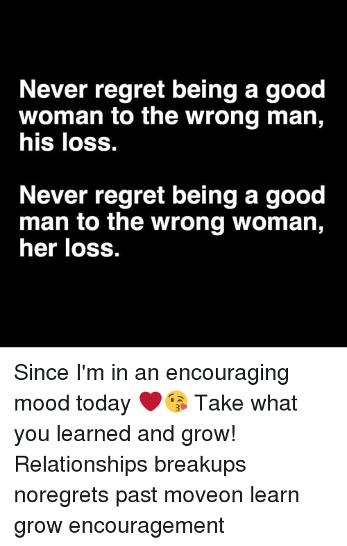 Being a good man in a relationship