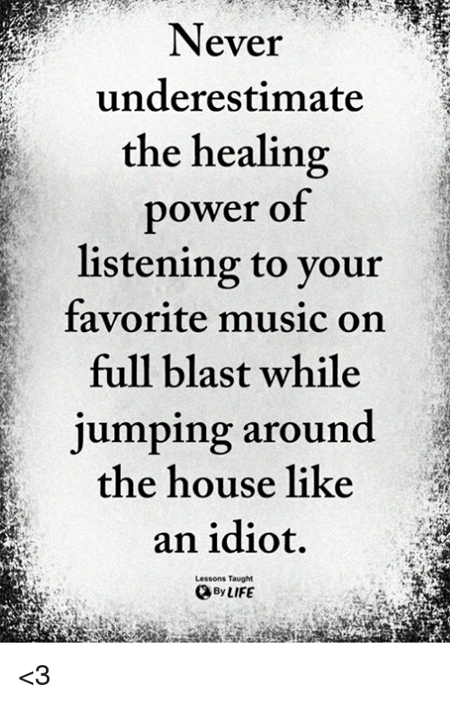 can listening to favorite music heal essay Music is powerful but did you know it can maybe there'll be a dj taking requests for your favorite spins 8 music listening to music can reduce.