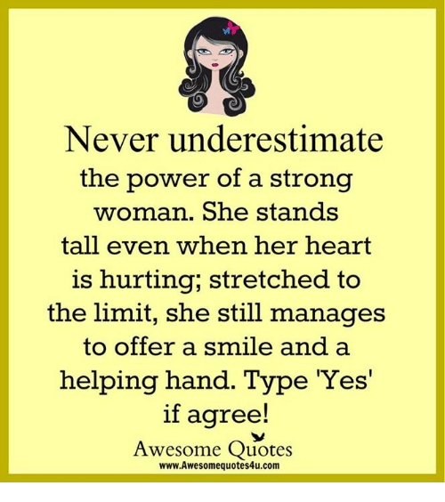 Never Underestimate The Power Of A Strong Woman She Stands Tall Even