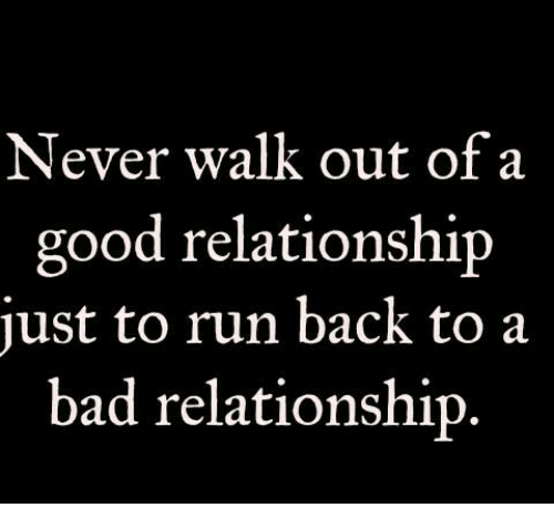good and bad relationship