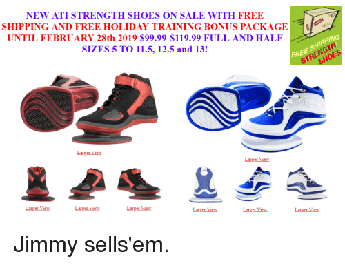 bbb3b84bef5d NEW ATI STRENGTH SHOES ON SALE WITH FREE SHIPPING AND FREE HOLIDAY ...