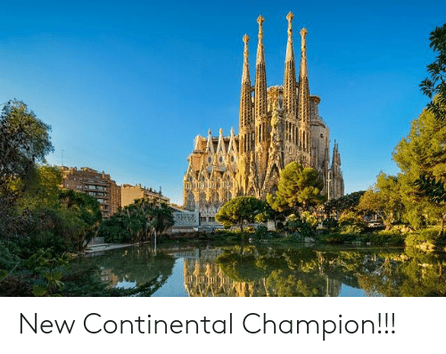 Funny, Continental, and Champion: New Continental Champion!!!