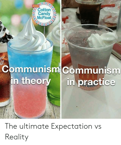 NEW Cotton Candy McFloat Tu Communism Communism in Theory in