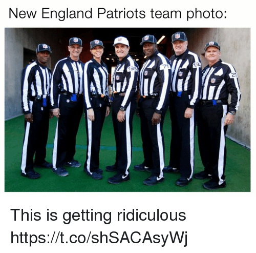 New England Patriots Team Photo 71 21 This Is Getting Ridiculous