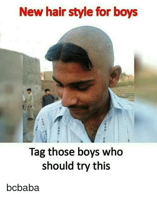 New Hairstyle For Boys Tag Those Boys Who Should Try This Bcbaba