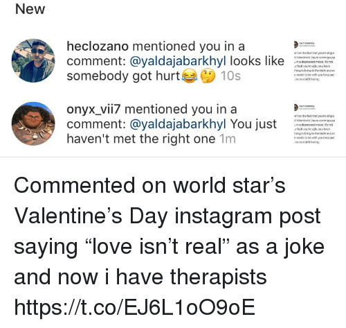 Instagram, Memes, And Thot: New Heclozano Mentioned You In A Comment: @