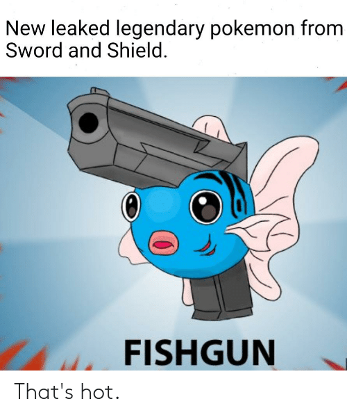 New Leaked Legendary Pokemon From Sword And Shield Fishgun That S