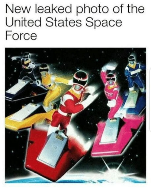 Space, United, and United States: New leaked photo of the  United States Space  Force