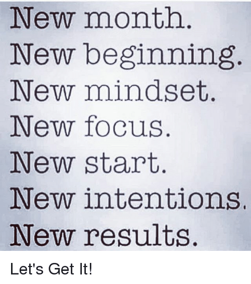 how to get a new start