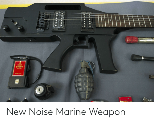 Weapon, Marine, and New: New Noise Marine Weapon