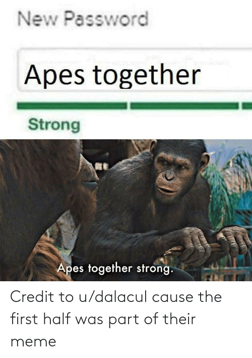 Apes Together Strong A Decent Template That Is Fairly Hard To Use