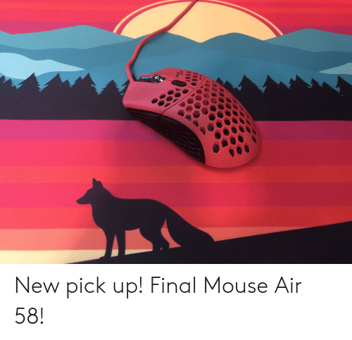 New Pick Up! Final Mouse Air 58! | Mouse Meme on ME ME