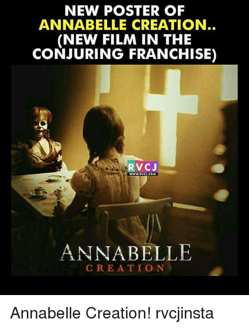 new poster of annabelle creation new film in the conjuring 24415139 new poster of annabelle creation new film in the conjuring franchise