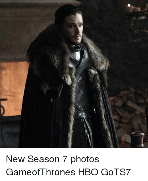 Hbo, Memes, and 🤖: New Season 7 photos GameofThrones HBO GoTS7