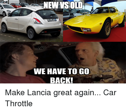 Cars Old And Back NEW VS OLD WE HAVE TO GO BACK
