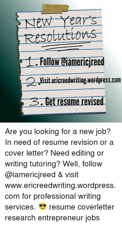 New Years OllOW Jreed 2 Visit Creedwriting Wordpresscom Get Resume