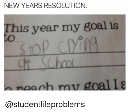new year resolutions tumblr