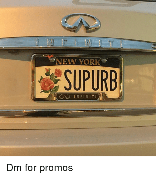 Infiniti, New, and For: NEW YOR  SUPURB  INFINITI Dm for promos