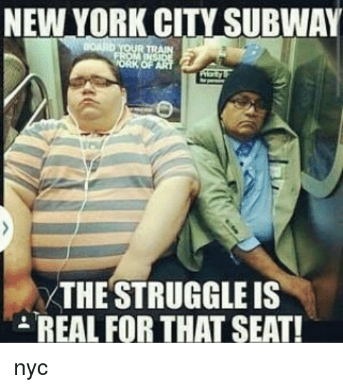 new york city subway the struggle is real for that 15335459 new york city subway the struggle is real for that seat! nyc
