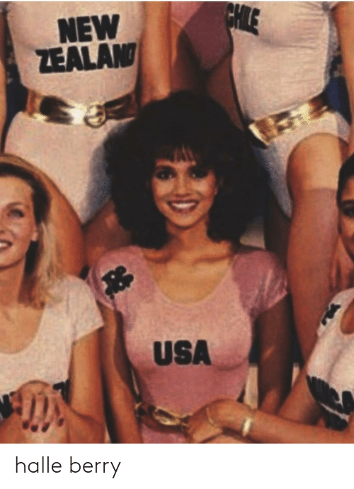 Halle Berry, Usa, and New: NEW  ZEALAN  USA halle berry