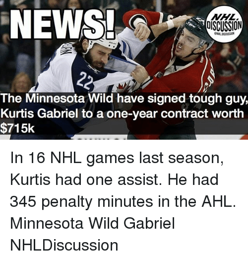 news discussion the minnesota wild have signed tough guy kurtis 24948214 25 best minnesota wild memes mitchell memes, trade memes, the memes