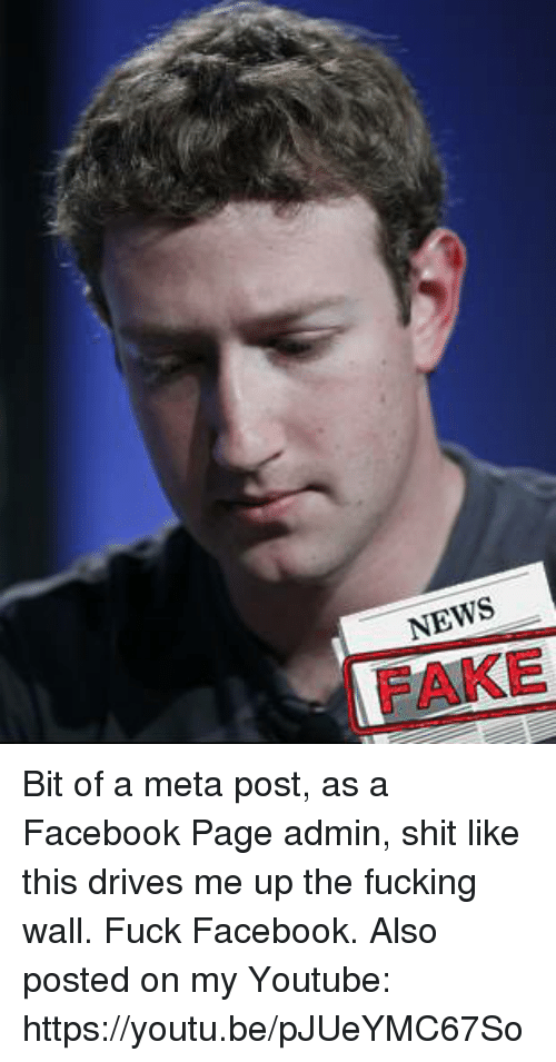 Dank, Driving, and Fake: NEWS  FAKE Bit of a meta post, as a Facebook Page admin, shit like this drives me up the fucking wall.  Fuck Facebook.  Also posted on my Youtube: https://youtu.be/pJUeYMC67So