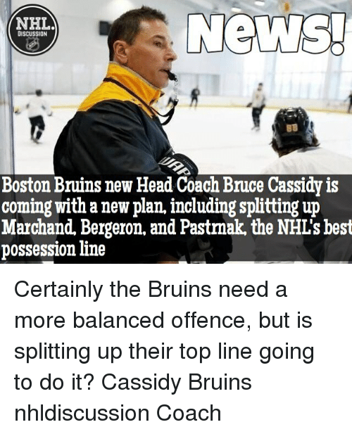 News! NHL DISCUSSION Boston Bruins New Head Coach Bruce