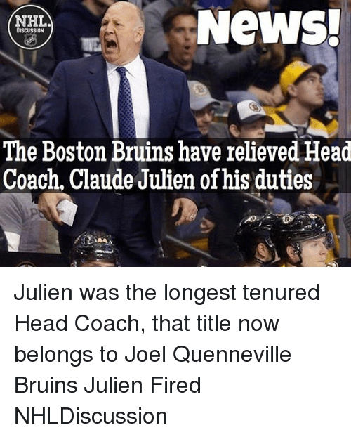 25+ Best Memes About Claude Julien