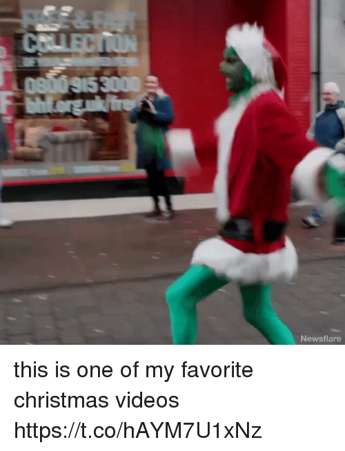 Christmas, Videos, and Girl Memes: Newsflare this is one of my favorite christmas videos https://t.co/hAYM7U1xNz