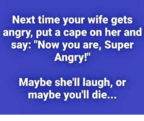 wife gets angry easily