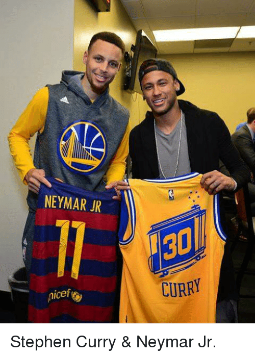 NEYMAR JR Micef 130 CURRY Stephen Curry Neymar Jr