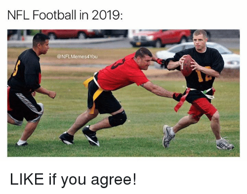 Nfl Football In 2019 You Like If You Agree Football Meme On Me Me