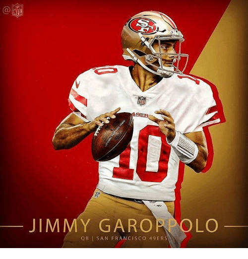 Discount NFL JIMMY GAROPPOLO QB I SAN FRANCISCO 49ERS | San Francisco 49ers  for cheap