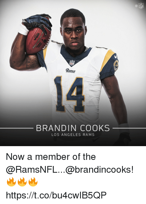 info for 57789 88ea2 NFL NFL Rams 14 BRANDIN COOKS LOS ANGELES RAMS Now a Member ...