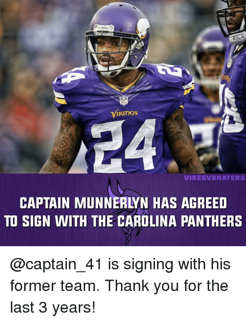 size 40 25ab2 77f2a NFL VIKINGS VIKES MSHA TERS CAPTAIN MUNNERLYN HAS AGREED TO ...