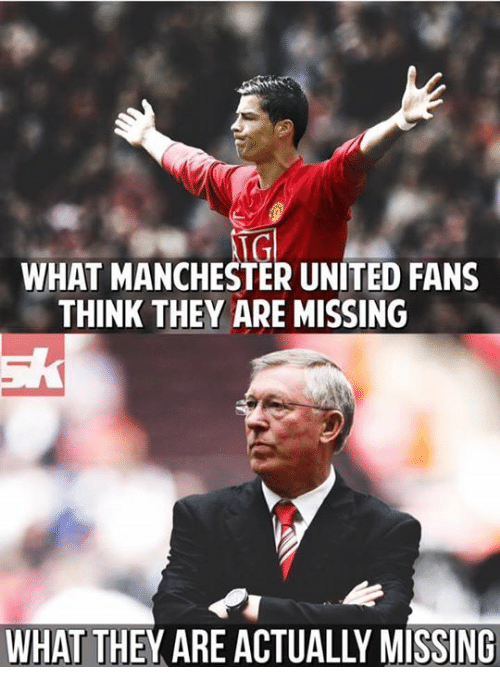 NGl WHAT MANCHESTER UNITED FANS THINK THEY ARE MISSING ...