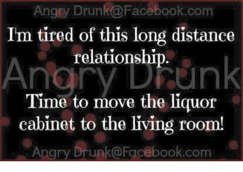 Relationship distance of tired long Long Distance