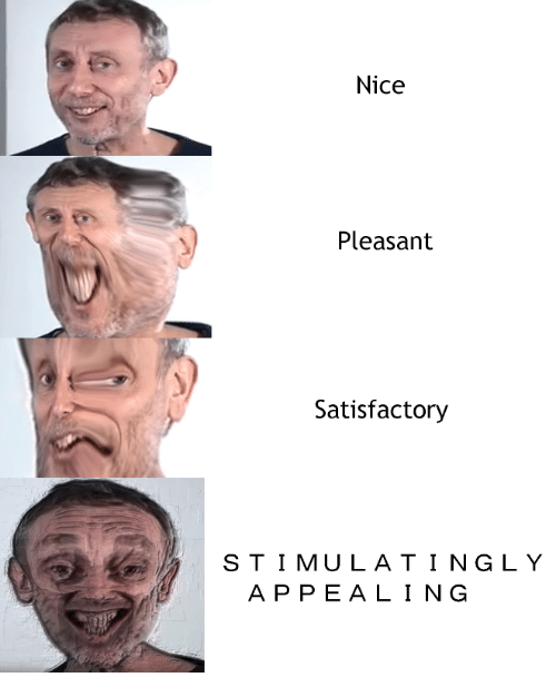 Nice, A&p, and Tingly: Nice  Pleasant  Satisfactory  STIMULA TINGLY  A P PEALING