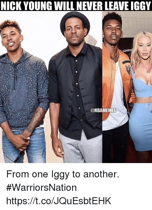 415b5c9078c7 NICK YOUNG WILL NEVER LEAVE IGGY From One Iggy to Another ...