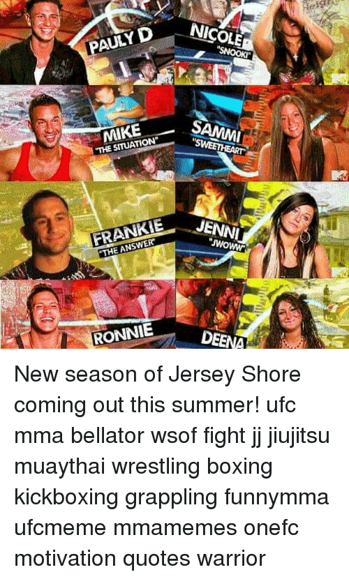 Nicole Pauly D Mike The Situation Samm Frankie The Answer Jenn