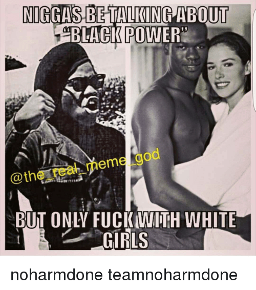 Only black fuck