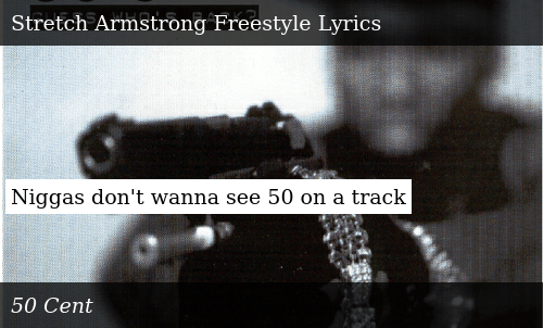 Niggas Don't Wanna See 50 on a Track | Donald Trump Meme on