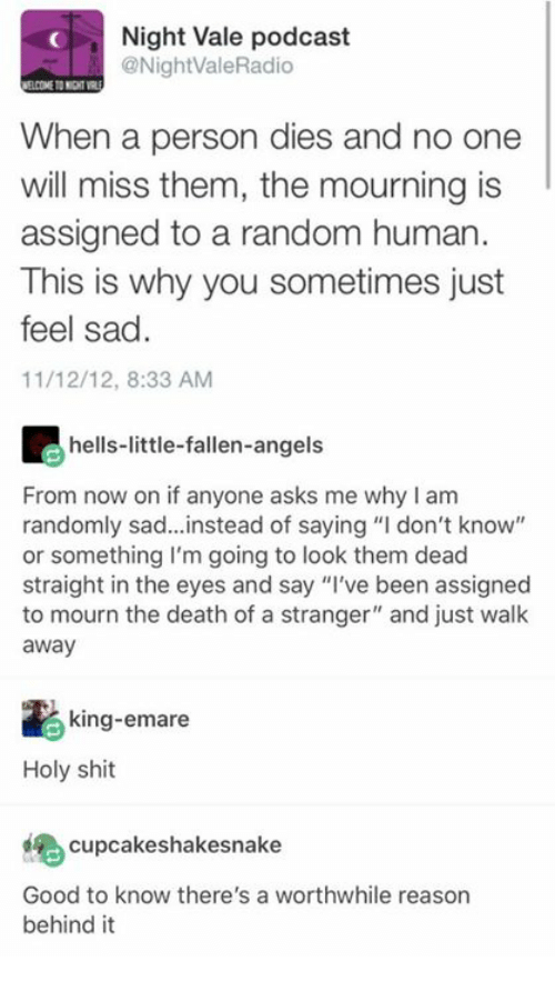 A Stranger at Death