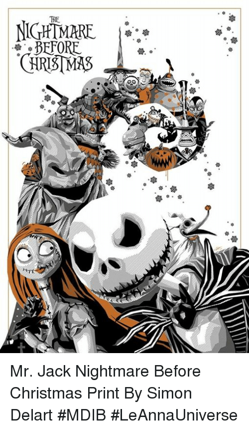Nightmare Before Christmas Memes Funny.Nightmare Before Mr Jack Nightmare Before Christmas Print By