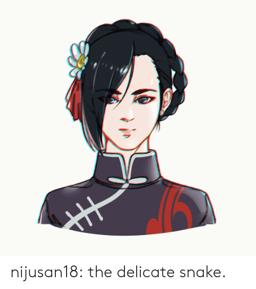 Target, Tumblr, and Blog: nijusan18:  the delicate snake.