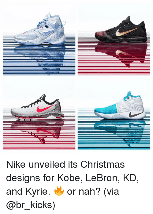 0c6521b7db5a Nike Unveiled Its Christmas Designs for Kobe LeBron KD and Kyrie ...