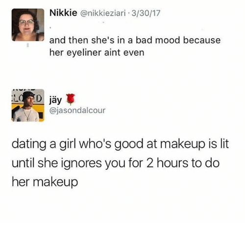 dating a smart girl is lit
