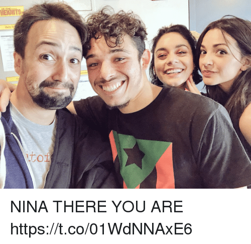 Memes, 🤖, and You: NINA THERE YOU ARE https://t.co/01WdNNAxE6