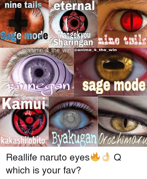 Nine Tails Eternal Fe More Awangekyou Ne Taile Sharingan E 4 the W